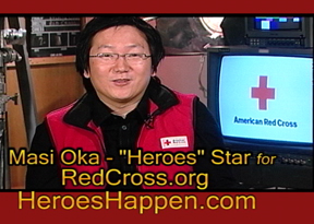 """You don't need super powers to be a hereo."" -------- Masi Oka"