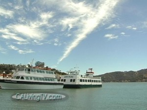Get Away without Going Away - with Angel Island Tiburon Ferry!