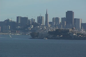 From the top of Mt. Livermore, Angel Island - you can see forever!