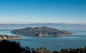 Half the fun of visiting Angel Island is getting there...with ride on the Angel Island Tiburon Ferry.