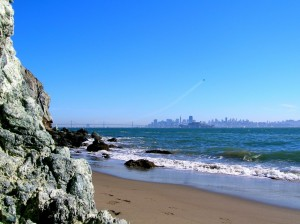 Angel Island State Park's Perles Beach - your little piece of paradise in the middle of San Francisco Bay