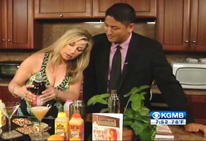 Hawaii News Now Host Steve Uyehara Gets in on the Fun with Party Girl Diet Author Aprilanne Hurley