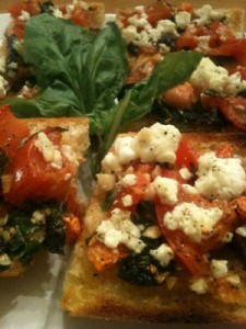 The Party Girl Diet's Bruschetta is irresistibly healthy!