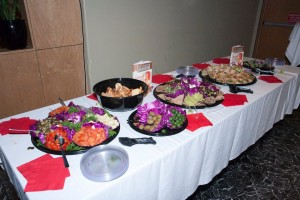 Delicious Party Girl Diet Buffet