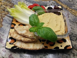 Aloha Diet Hummus is healthy and delicious!